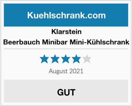 Klarstein Beerbauch Minibar Mini-Kühlschrank Test