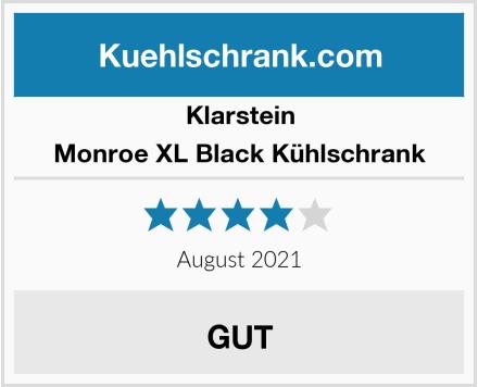 Klarstein Monroe XL Black Kühlschrank Test