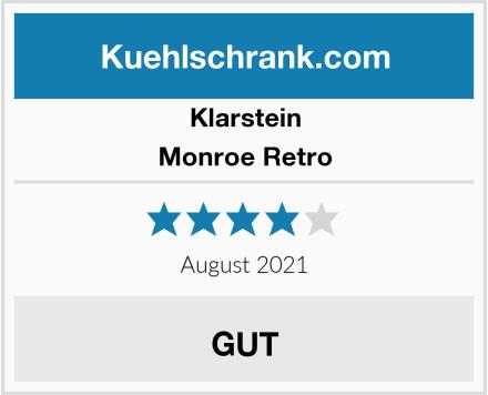 Klarstein Monroe Retro Test