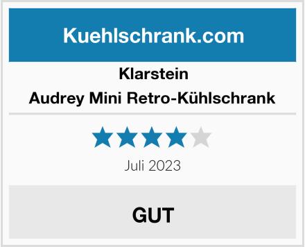 Klarstein Audrey Mini Retro-Kühlschrank Test