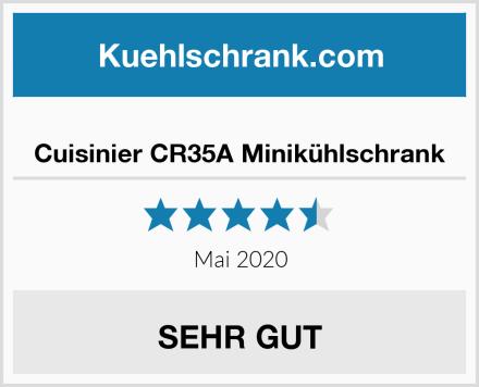 Cuisinier CR35A Minikühlschrank Test