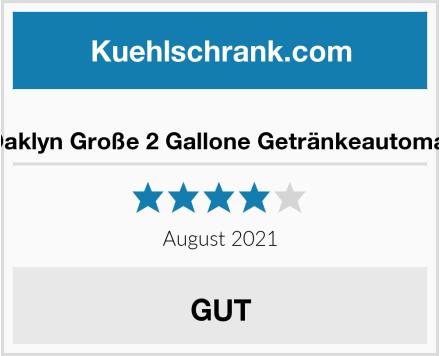 Oaklyn Große 2 Gallone Getränkeautomat Test