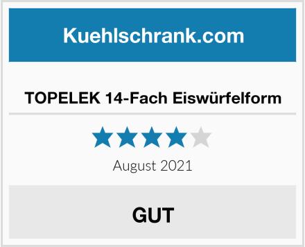 No Name TOPELEK 14-Fach Eiswürfelform Test