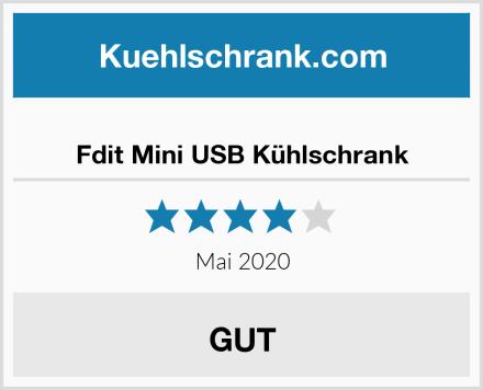 Fdit Mini USB Kühlschrank Test