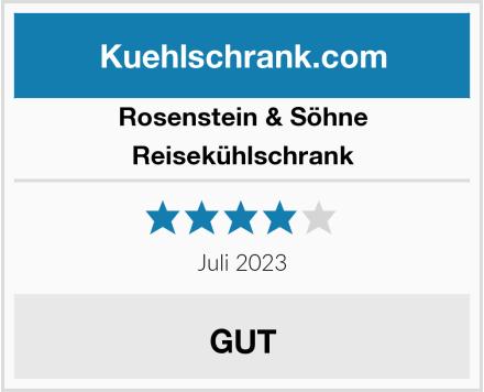 Rosenstein & Söhne Reisekühlschrank Test