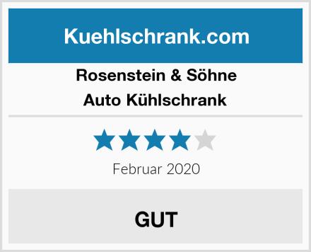 Rosenstein & Söhne Auto Kühlschrank Test