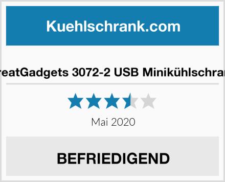 GreatGadgets 3072-2 USB Minikühlschrank Test