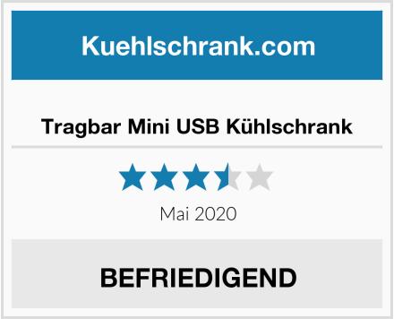 Tragbar Mini USB Kühlschrank Test