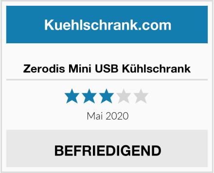 Zerodis Mini USB Kühlschrank Test