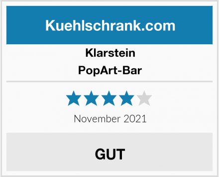 Klarstein PopArt-Bar Test