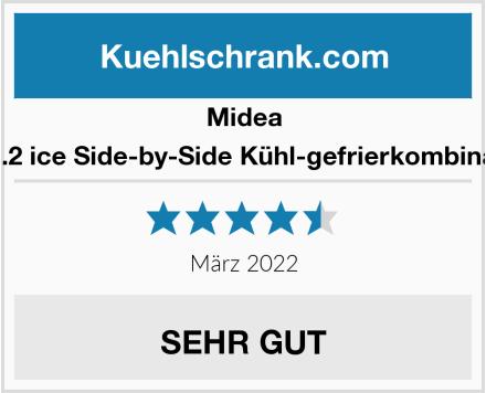 Midea KS 6.2 ice Side-by-Side Kühl-gefrierkombination Test