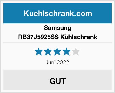 Samsung RB37J5925SS Kühlschrank Test