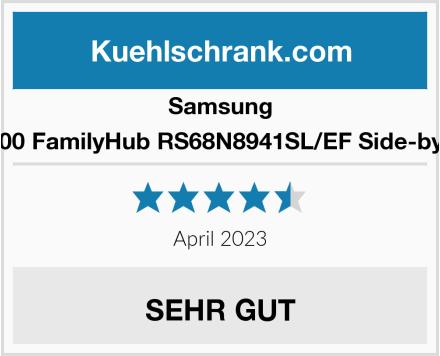 Samsung RS8000 FamilyHub RS68N8941SL/EF Side-by-Side Test
