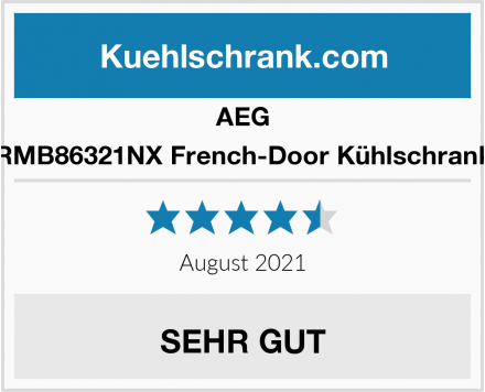 AEG RMB86321NX French-Door Kühlschrank Test