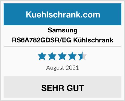 Samsung RS6A782GDSR/EG Kühlschrank Test