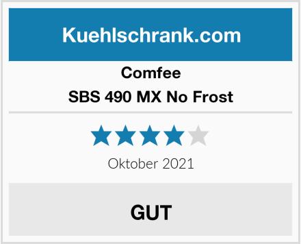 Comfee SBS 490 MX No Frost Test