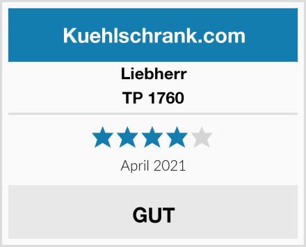 Liebherr TP 1760 Test