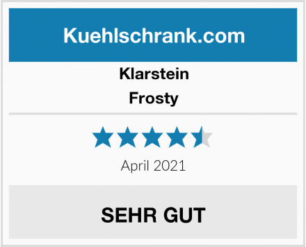 Klarstein Frosty Test