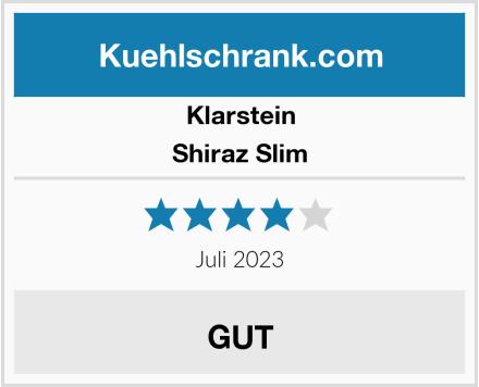 Klarstein Shiraz Slim Test