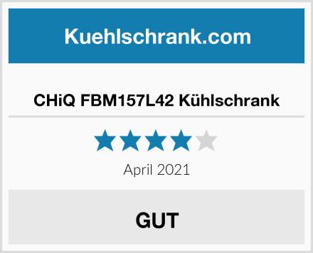 CHiQ FBM157L42 Kühlschrank Test