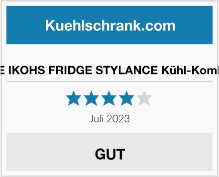 CREATE IKOHS FRIDGE STYLANCE Kühl-Kombination Test