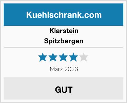 Klarstein Spitzbergen Test