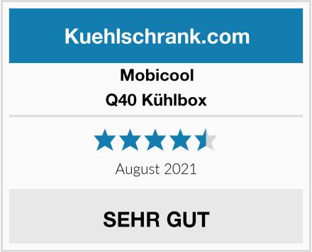 Mobicool Q40 Kühlbox Test