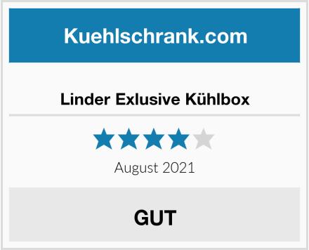 Linder Exlusive Kühlbox Test