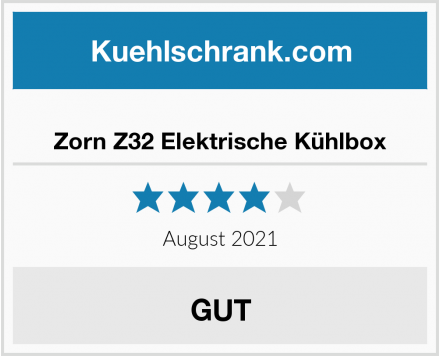Zorn Z32 Elektrische Kühlbox Test