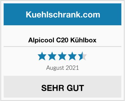 Alpicool C20 Kühlbox Test