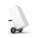 Wie transportiere ich einen Kühlschrank?