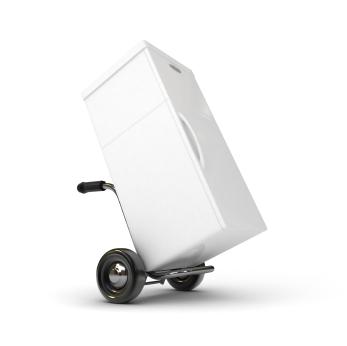 Wie transportiere ich einen Kühlschrank richtig?