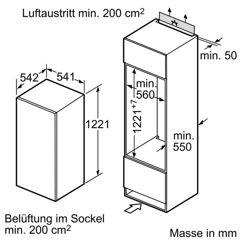 Siemens KI24RV30 Kühlschrank Test 2018