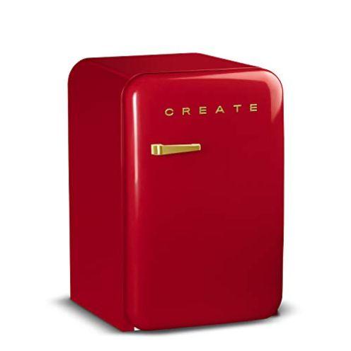 CREATE Retro Fridge Gold Kühlschrank