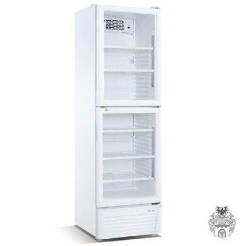 Gastro-Großküchen-Geräte Glaskühlschrank