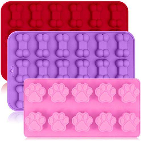 FineGood 3 Pack Silikon Eisformen